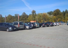 Parking w Modlinie